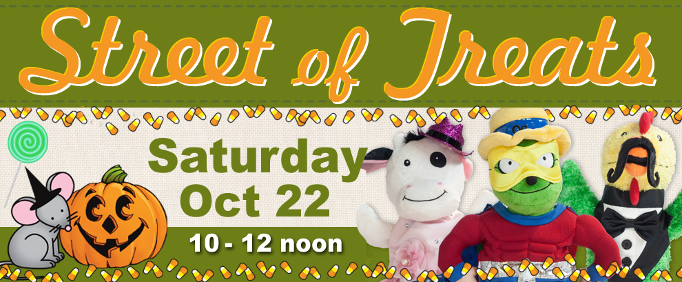 Halloween Street of Treats on Oct 22!