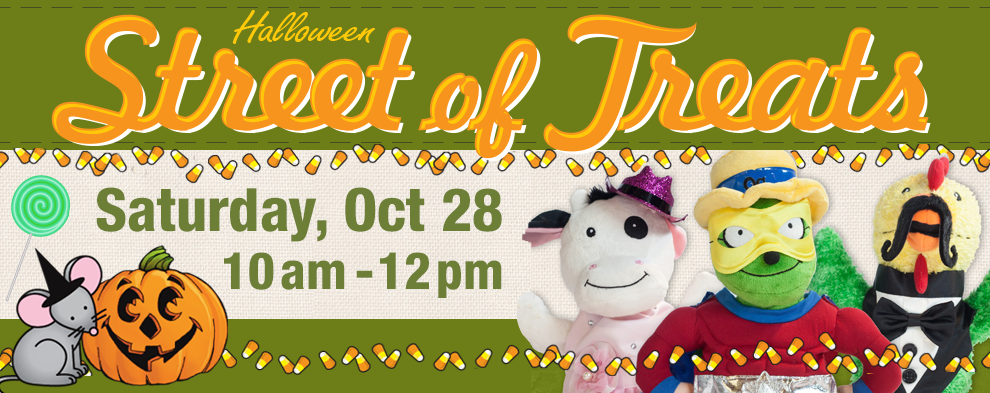 Halloween Street of Treats on Oct 28!